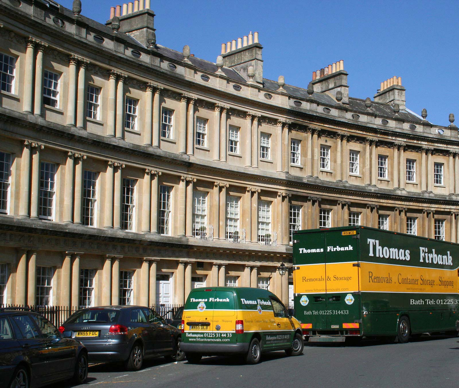 Get In Touch Thomas Firbank Removals Bath