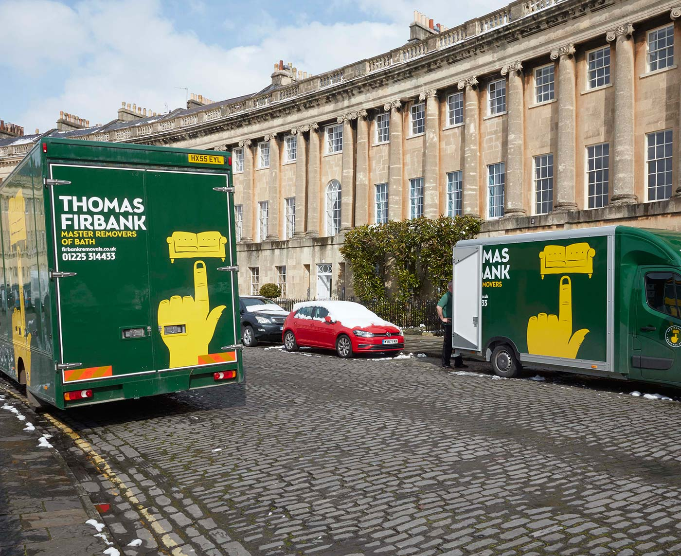 Removals in Bath and the Surrounding Areas with Thomas Firbank