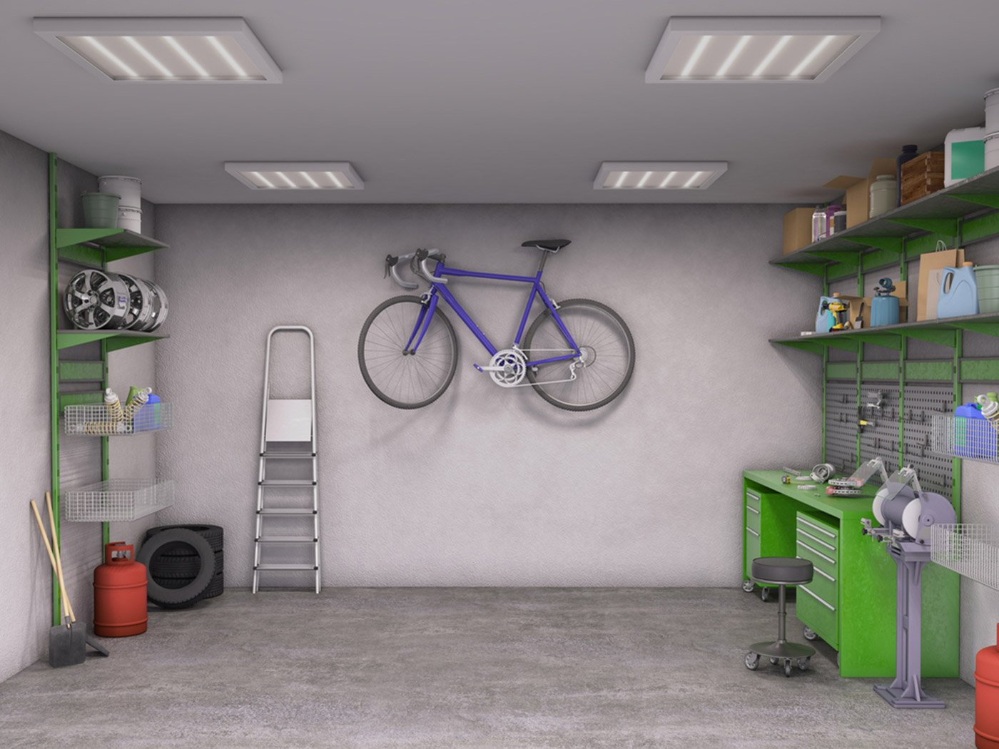 Decluttering With Storage Before a Sale or Redecoration